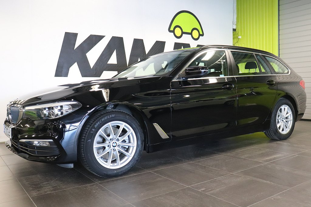 BMW 520 Xdrive | Navi | Business Connected Ed | Dragkrok
