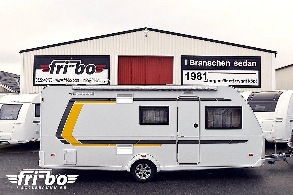 Weinsberg 500 QDK CaraTwo Barnkammare