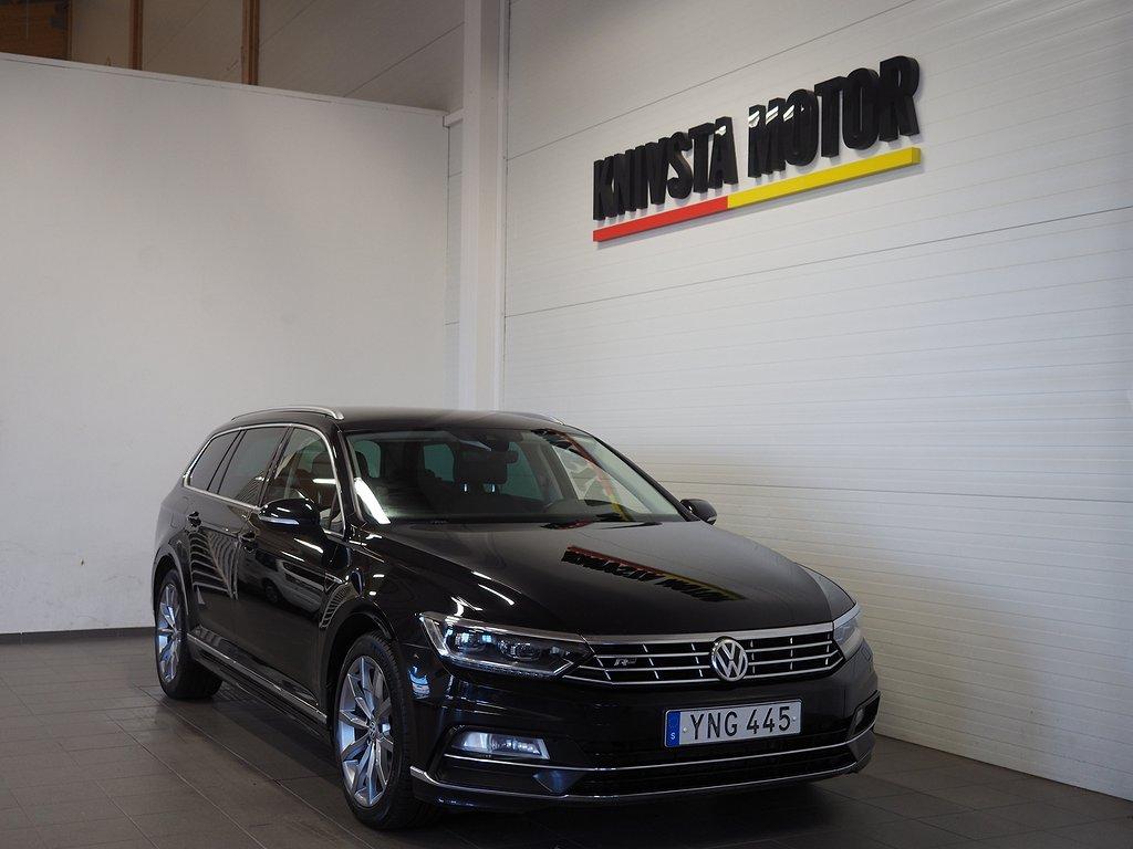 Volkswagen Passat Sportscombi 2.0 TDI Aut 4M R Line D-VÄRM 2018