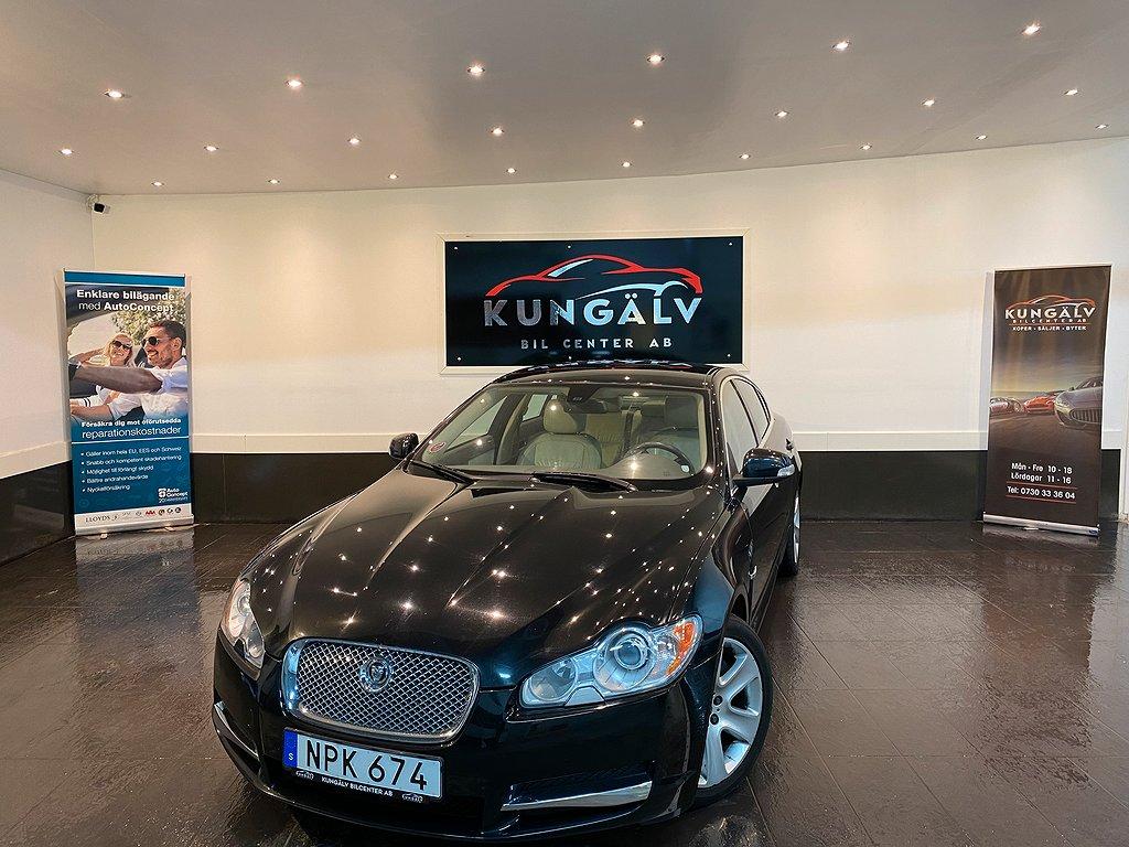 Jaguar XF 2.7*V6*AUTO*207hk*2ÄGARE*NAVI*NYBES*NYSERVAD