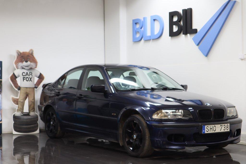 BMW 316 i SEDAN NYBES NYSERVAD 105hk