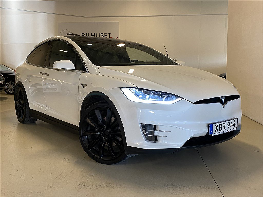 Tesla Model X 75D AWD NAVI Drag Leasbar
