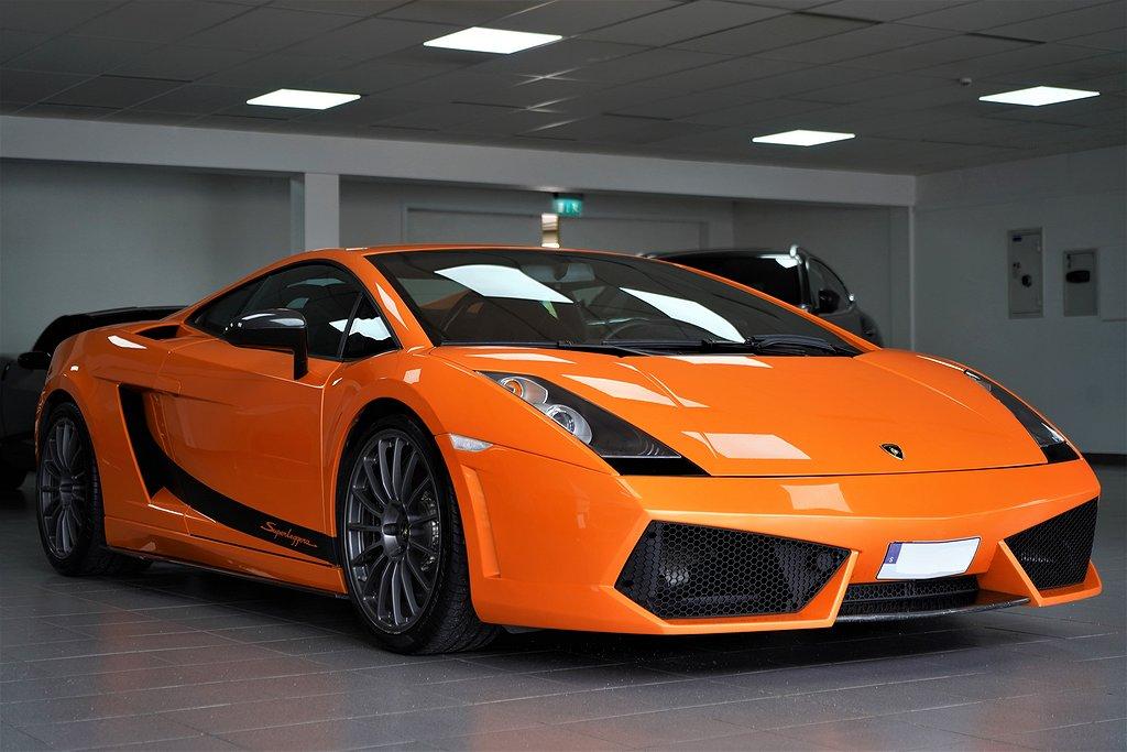 Lamborghini Gallardo Superleggera 5.0 V10 SV-SÅLD E-Gear 530hk