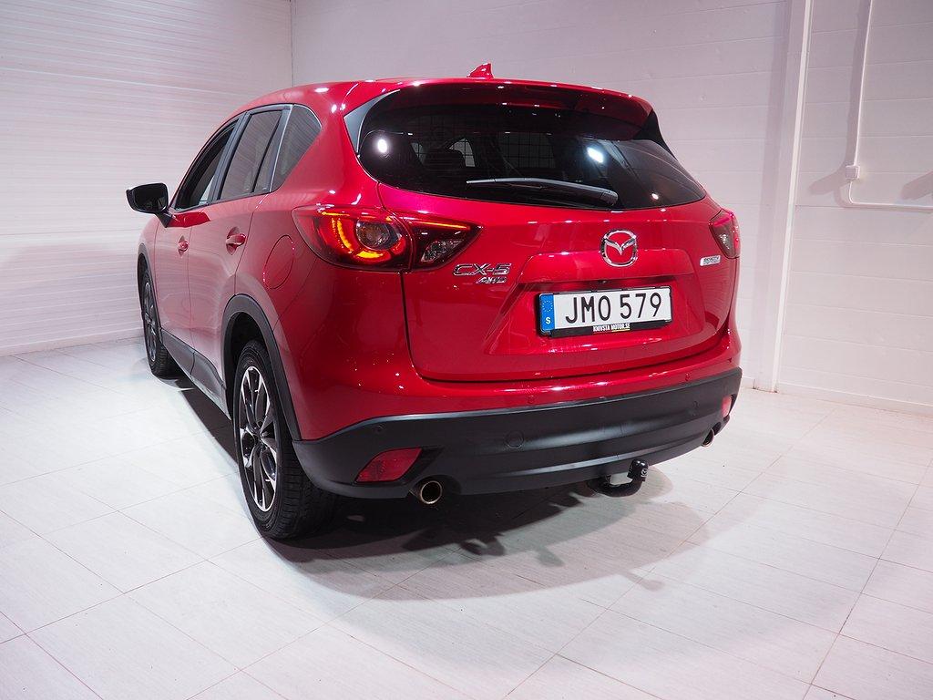 Mazda CX-5 2.5 Optimum AWD Automat DRAG Euro 6 192hk 2016