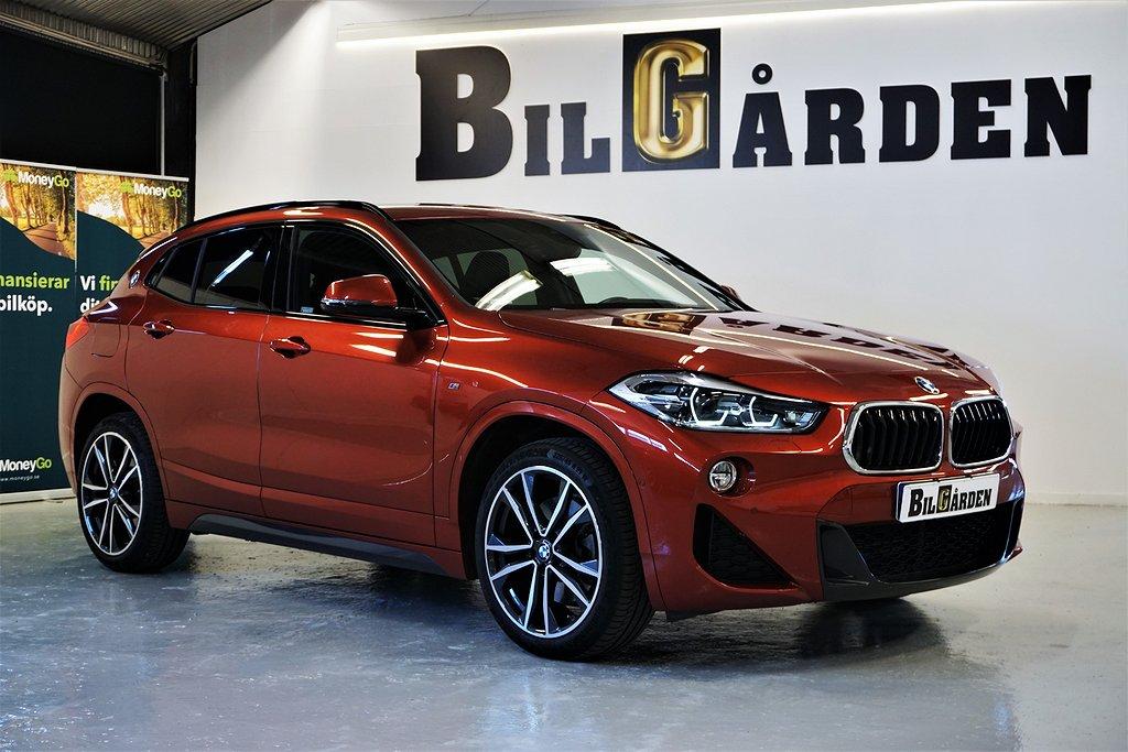 BMW X2 sDrive20i Steptronic M Sport H/K Drag  192hk Eu-6