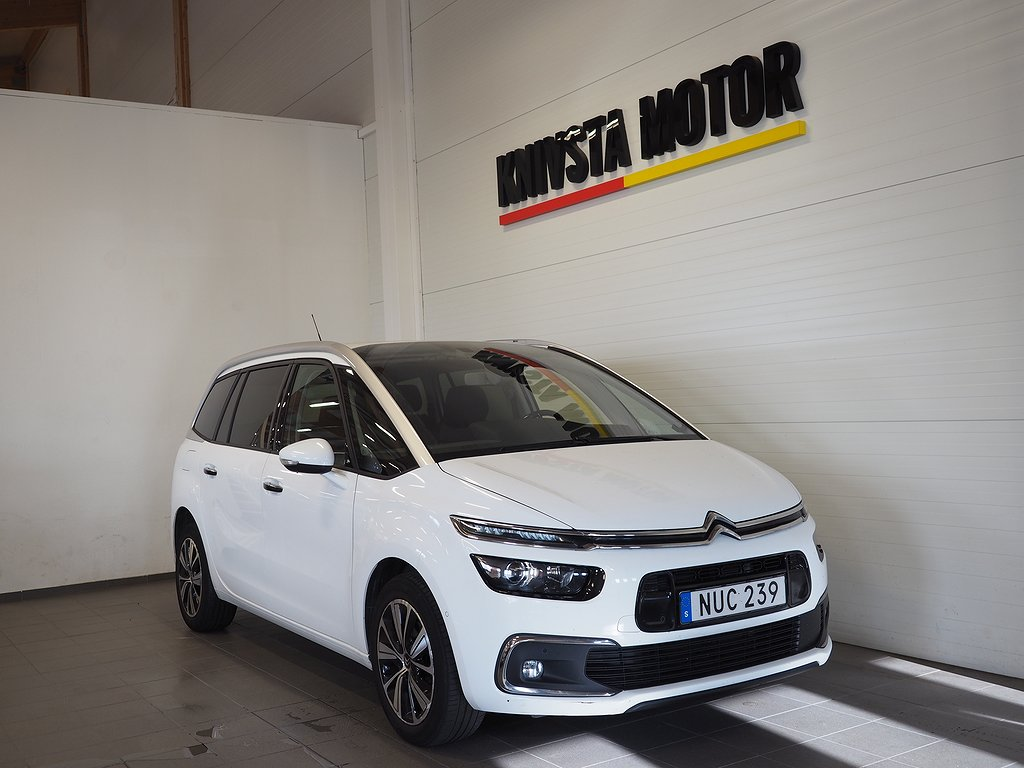 Citroën Grand C4 Picasso 1.6 Aut Euro 6 7-sits 120hk 2017