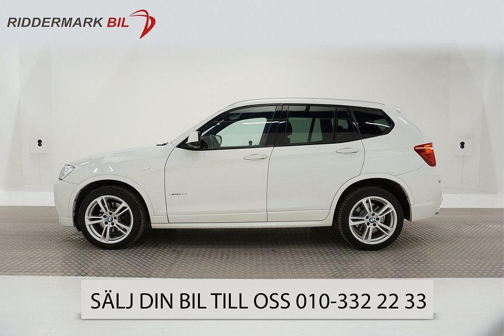BMW X3 xDrive30d, F25 (258hk)