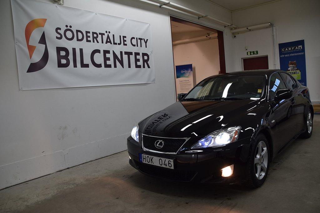 Lexus IS 250 2.5 V6 Auto Navi Skinn 208HK/Sve