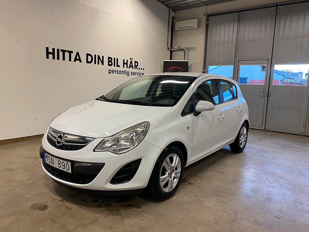 Opel Corsa 5-dörrar 1.2 ecoFLEX 85hk,en ägare
