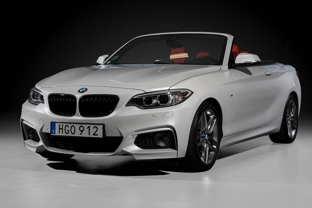 BMW 228 i Cabriolet M Sport *Välutrustad*