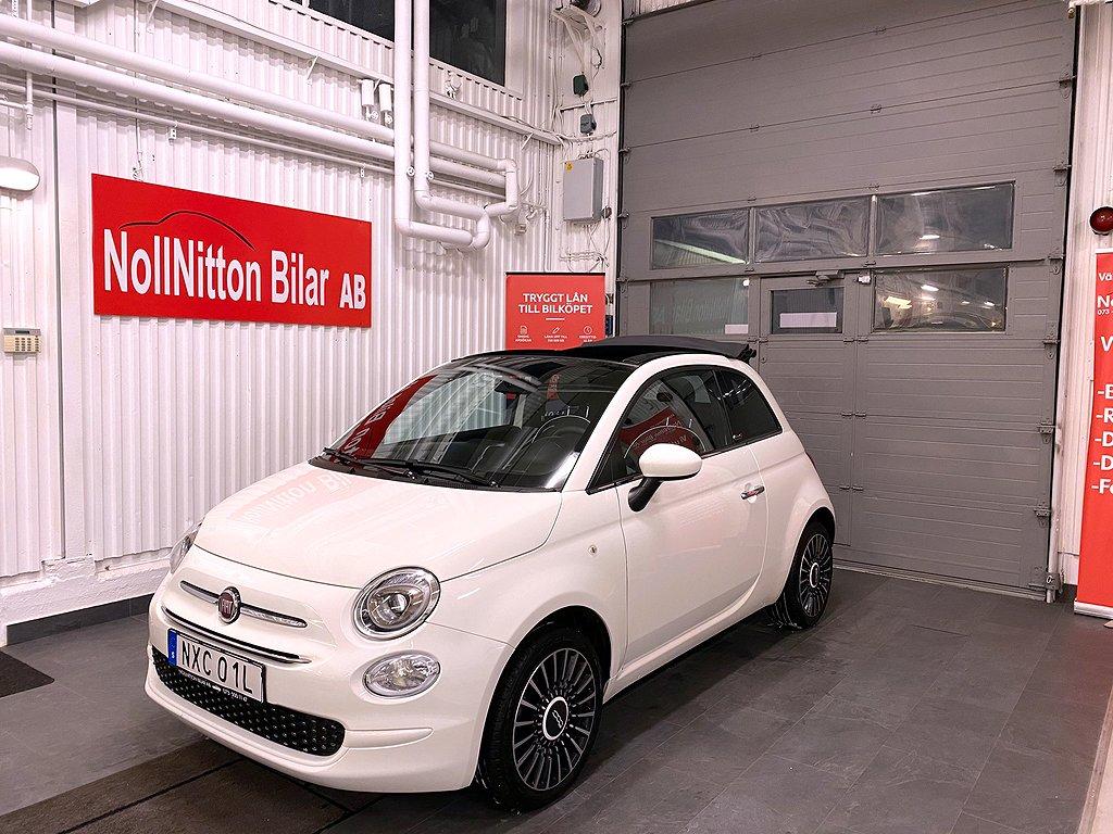 Fiat 500 1.2 Euro 6/ Cab/  69hk