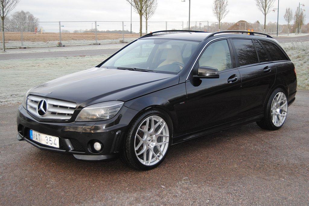 Mercedes-Benz C 200 T CDI Full C63 AMG Optik Kleemann