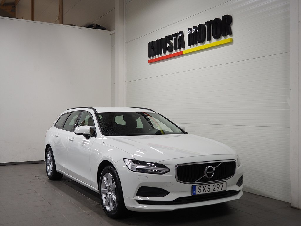 Volvo V90 D3 Aut Business Kinetic 150hk (Drag, D-värmare) 2018