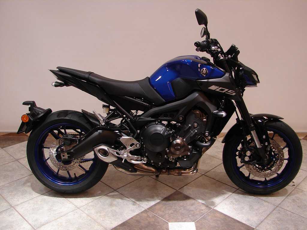 Yamaha MT-09 ABS  5 Års garanti