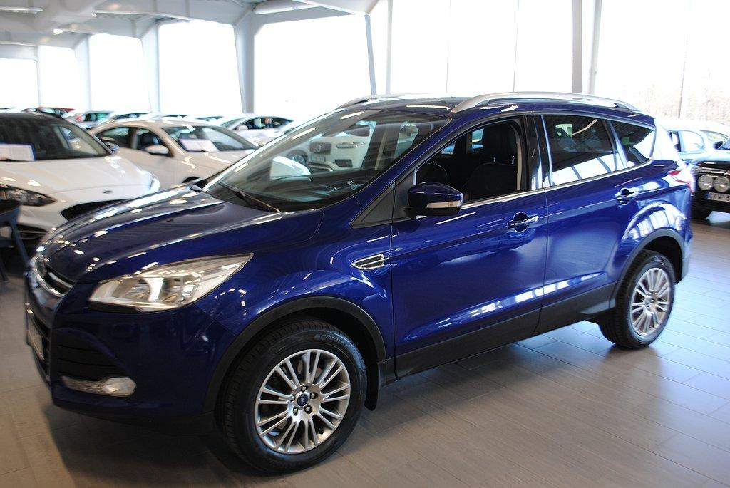 Ford Kuga *5.000kr i tillbehör* 2.0 TDCi 163hk 4WD Aut Titanium *Drag*