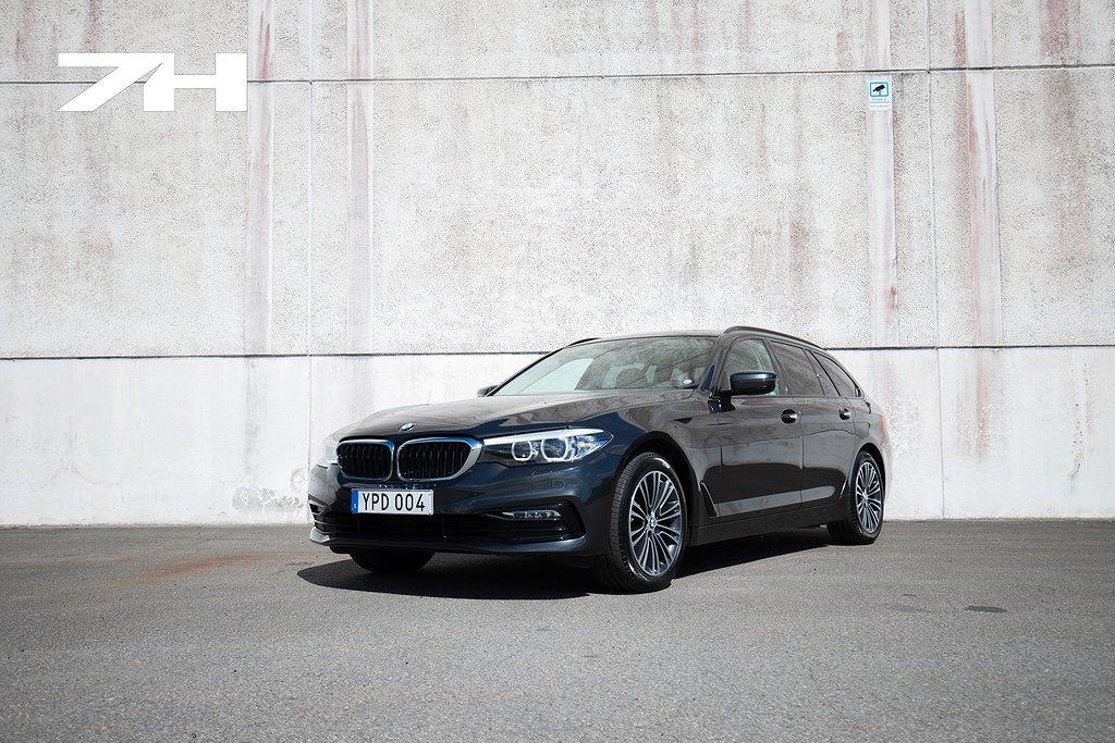 BMW 520 d Touring / Sport line / Läder / Värmare /