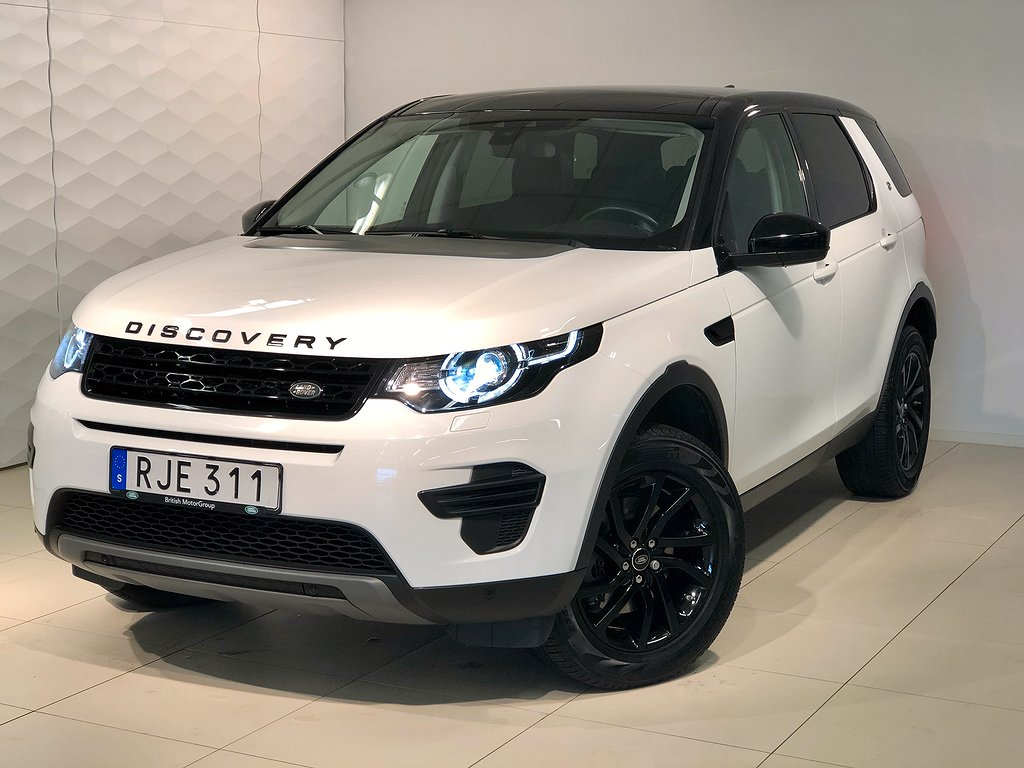 Land Rover Discovery Sport TD4 150 hk Panoramaglastak