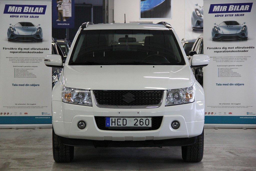 Suzuki Grand Vitara 2.4 VVT 4WD EN ÄGARE AUTOMAT DRAG NY BESIKTAD NY SERVAD