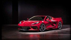 Första bilderna: Helt nya Chevrolet Corvette