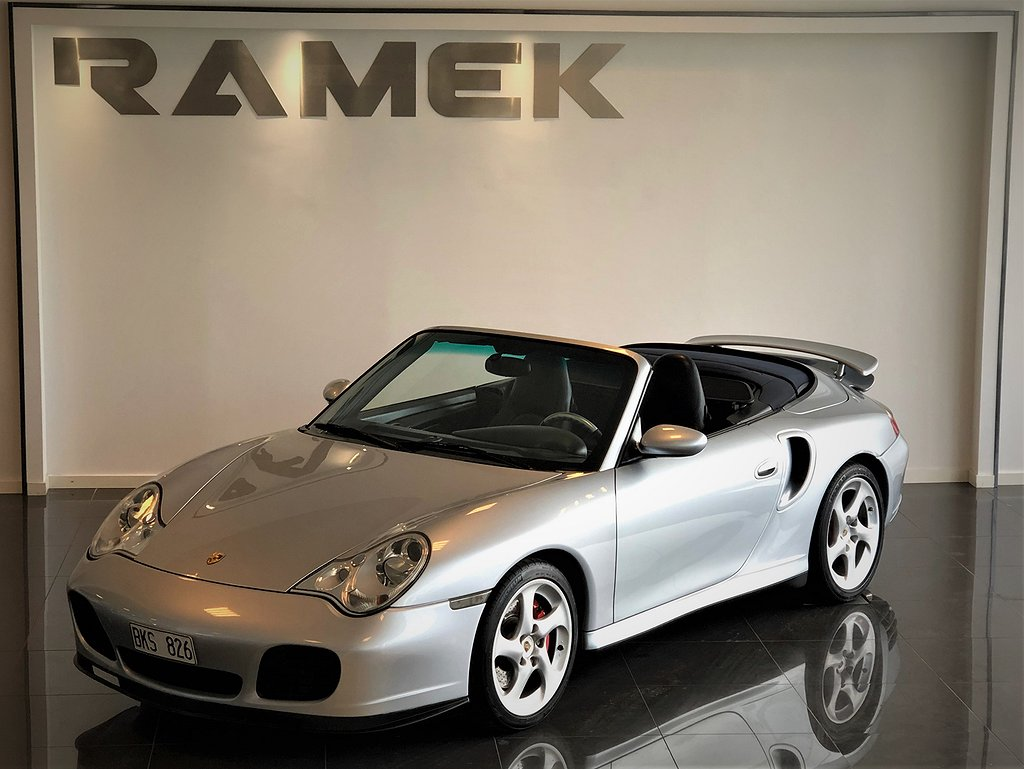 Porsche 911 996 Turbo Cabriolet 3.6 H6 4 420hk
