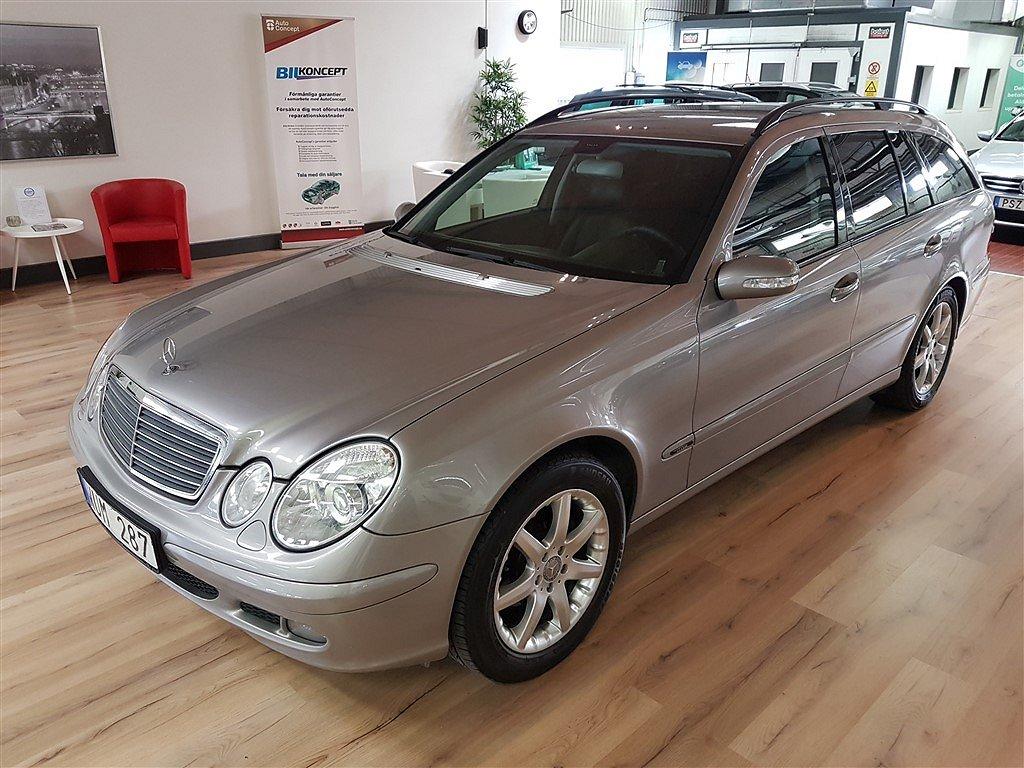 Mercedes-Benz E 200 T Kompressor Helläder