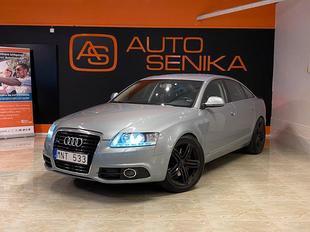 Audi A6 S-line 3.0 TDI quattro TipTronic Sport, Sedan 240HK