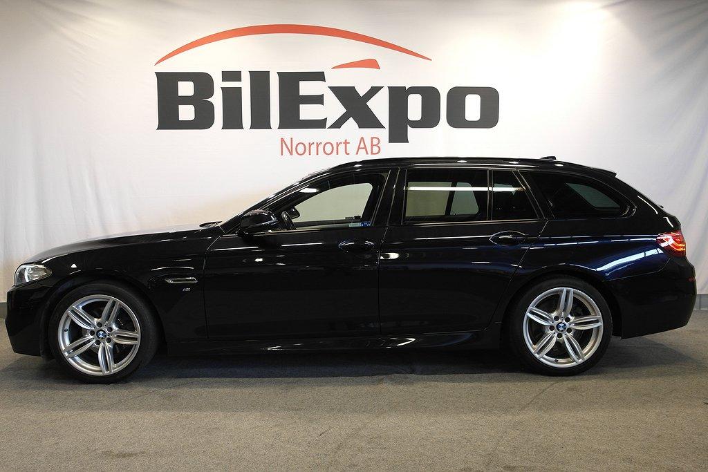 BMW 520 d XD M-SPORT NAVI VÄRMARE SKINN SVENSKSÅLD