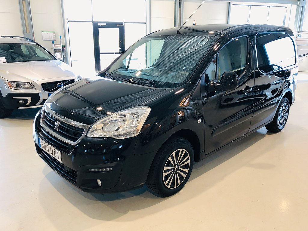 Peugeot Partner 1,6 BlueHDI ProPack Skåp 100hk