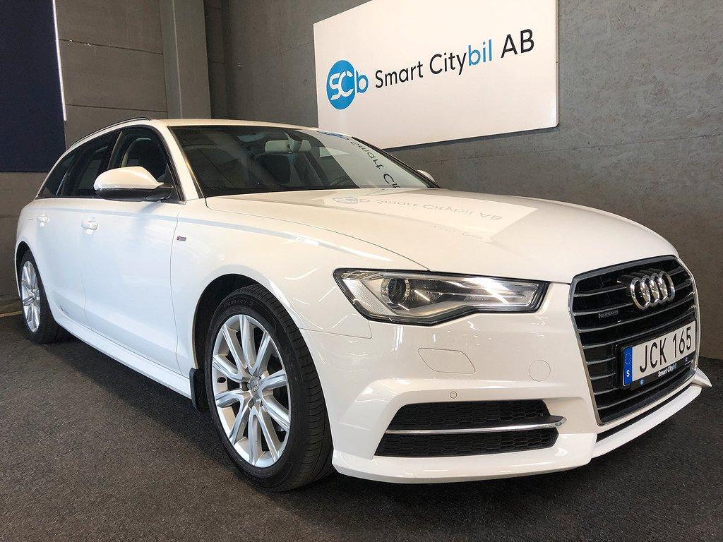 Audi A6 2.0 TDI quattro S-Line 190hk 1.95% 12 Mån GARANTI