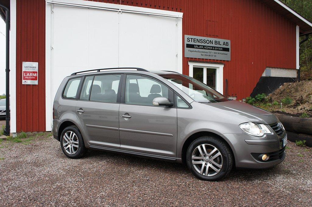 Volkswagen Touran 1.4 TSI 140Hk, 5-sits, Drag,