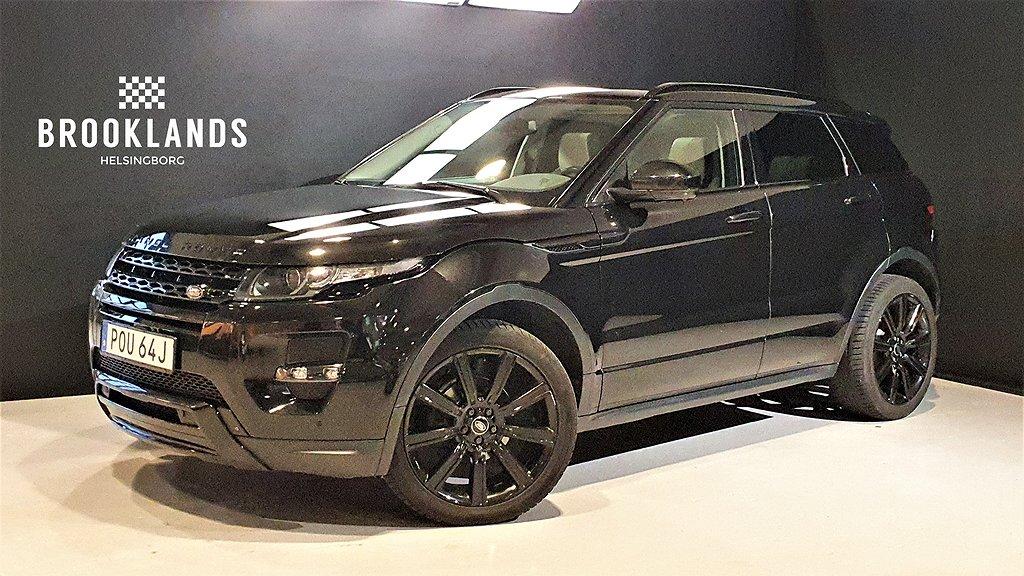 Land Rover Range Rover Evoque SD4 190hk Dynamic Black Pack
