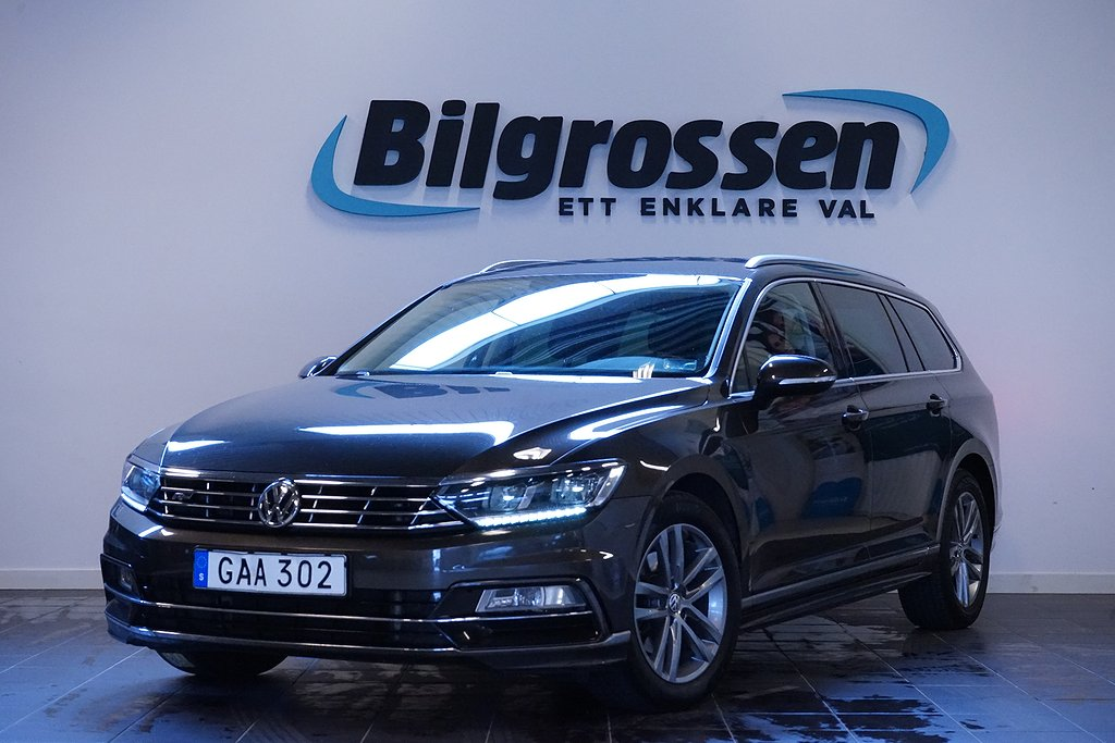 Volkswagen Passat 2.0 TDI 190hk R Line D-Värm Drag CarPlay