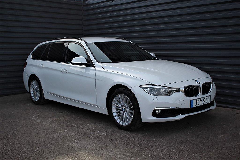 BMW 320 i Luxury Line Helläder Vinterhjul