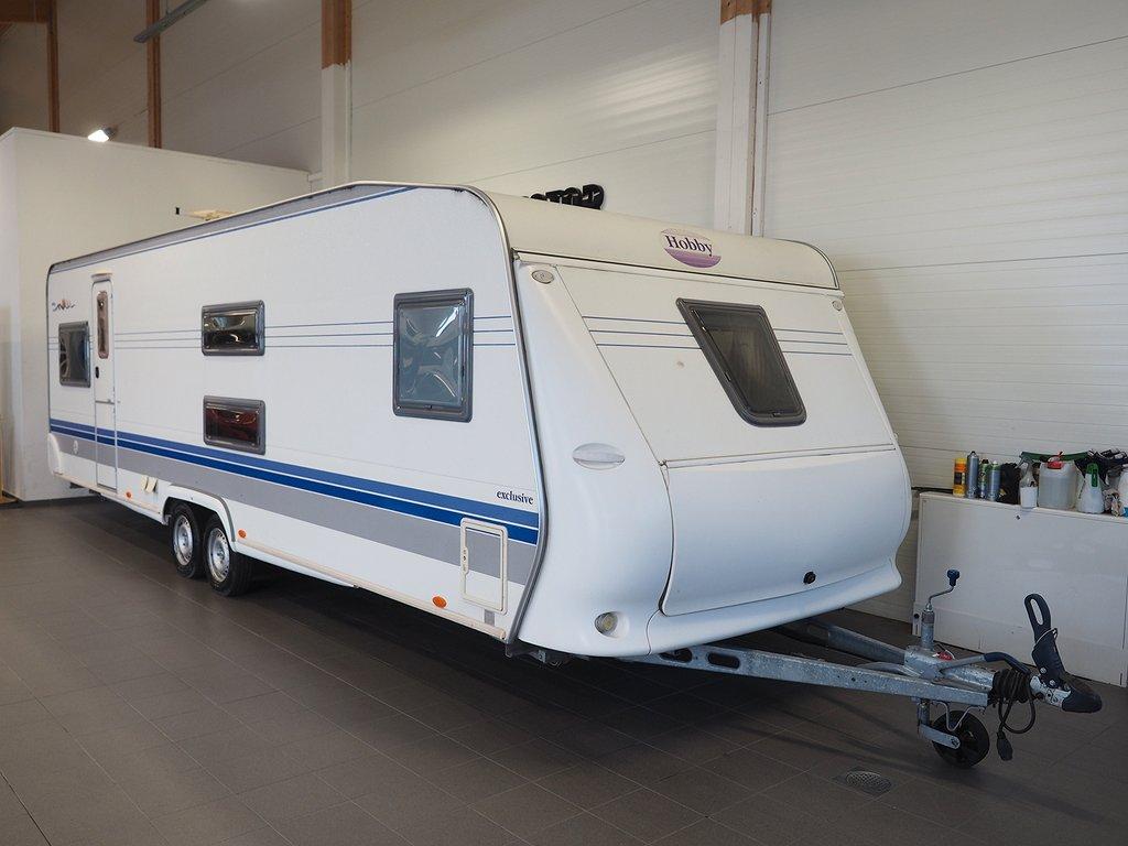 Hobby 720 UKFE Exclusive Barnkammare, AC-Bodel, ALDE 2006