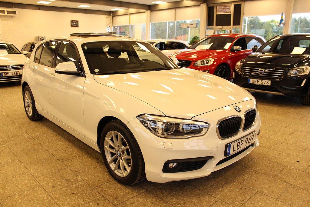 BMW 116 d 5-dörrars Advantage Euro 6 116hk Nyservad