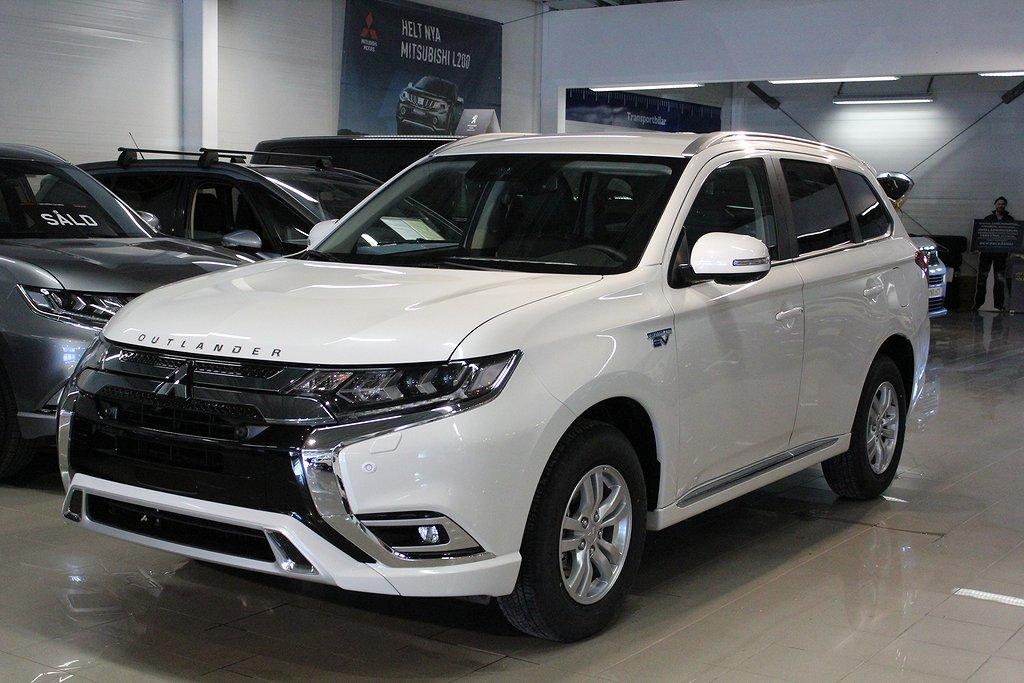 Mitsubishi Outlander P-HEV 2.4 Hybrid 4WD CVT Euro 6 230hk Fleet Edition Remote