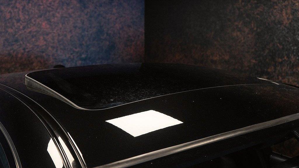 Den elektriska glastaket på BMW M5 från 2007.