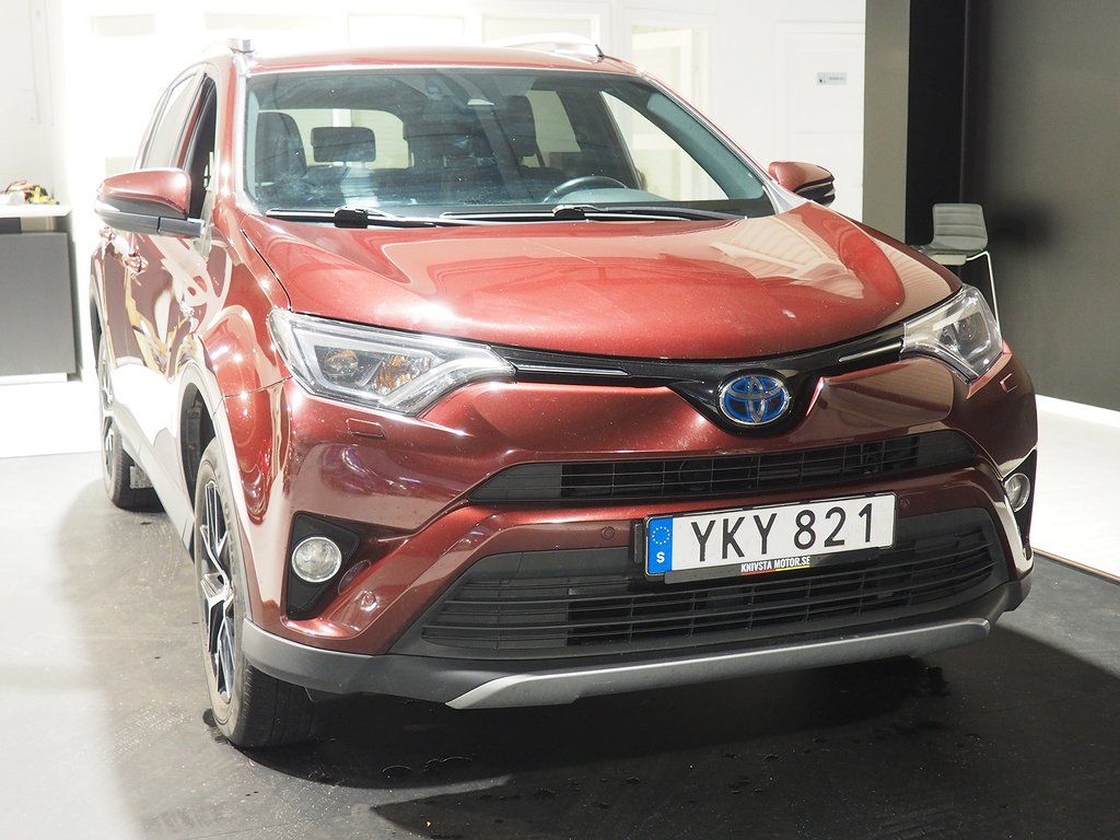 Toyota RAV4 Hybrid E-FOUR 2.5 i-AWD ECVT Navigation 197hk 2017