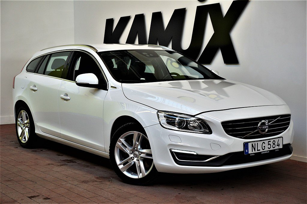 Volvo V60 D5 | Plug-in Hybrid | AWD | Summum | Drag | S&V hjul |