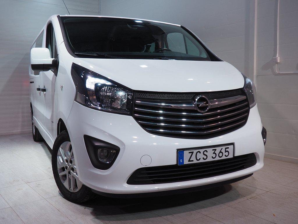 Opel Vivaro Van 1.6 CDTI Dubbelhytt 145hk Dieselvärmare 2018