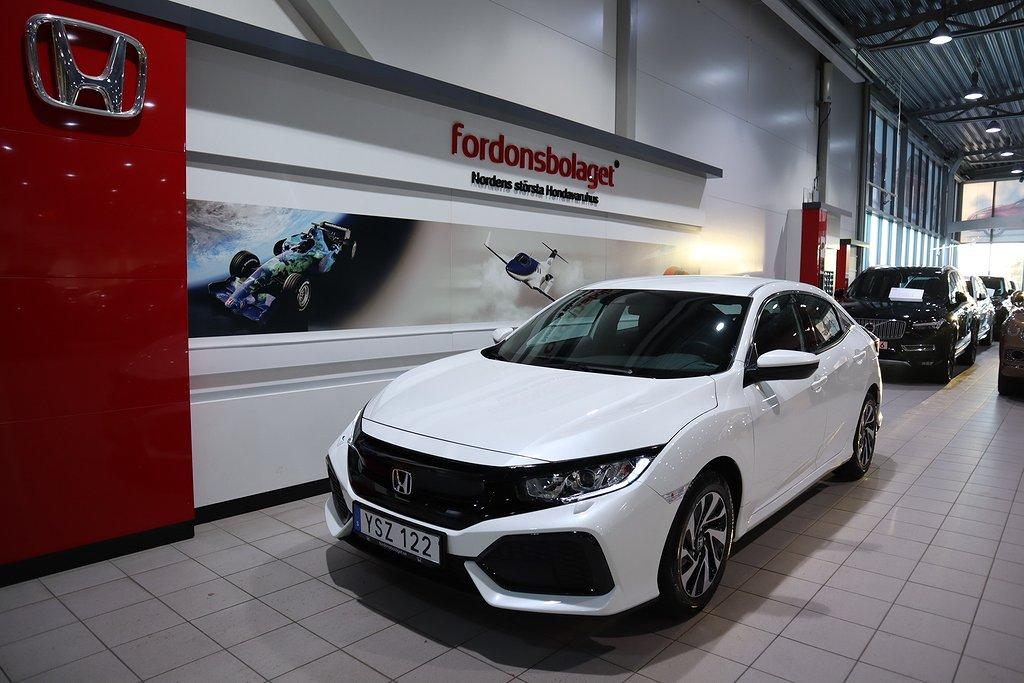 Honda Civic 1.0 Comfort 129HK PRIVATLEASING