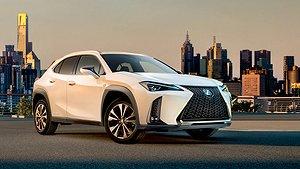 Lexus UX är en ny kompaktsuv