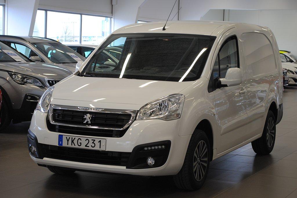 Peugeot Partner PRO+ L2 BlueHDi 100hk Webasto Drag
