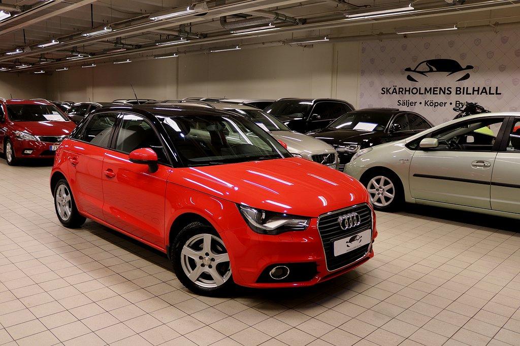 Audi A1 1.6TDI SPORTBACK S-TRONIC AUTO LÅGMiL AUX