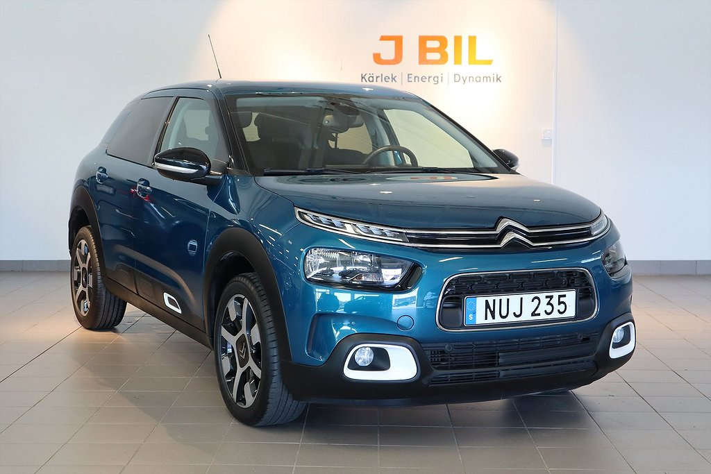 Citroën C4 Feel 1.2 PureTech 110hk - Drag. SoV Hjul. NAV