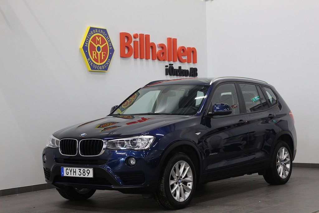 BMW X3 xDrive20d Automat /Värmare /Navi