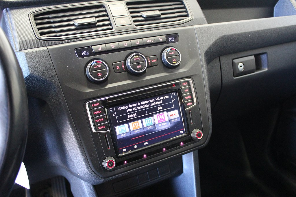 Volkswagen Caddy, 1.6 TDi Xenonljus Navi Dragkrok