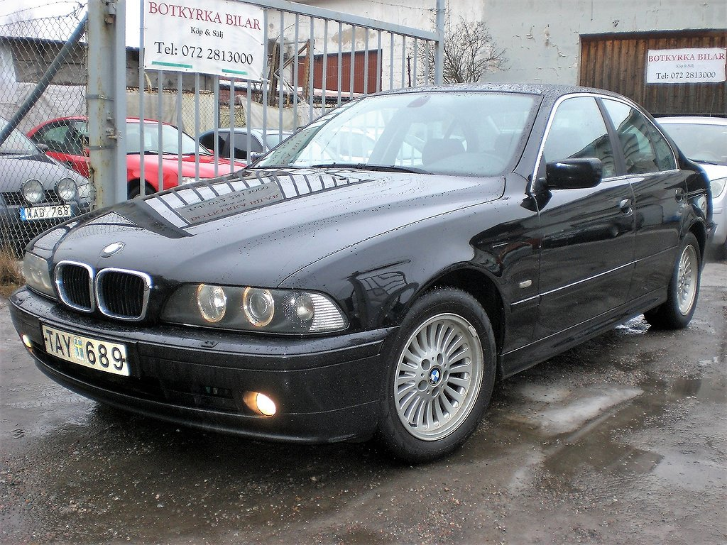 BMW 520 i Lim Sedan 170hk Besiktad