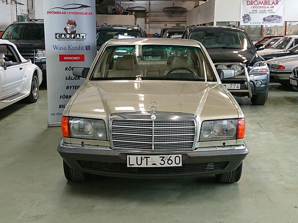 Mercedes-Benz 380 SEL 204hk Sv.såld Tacklucka