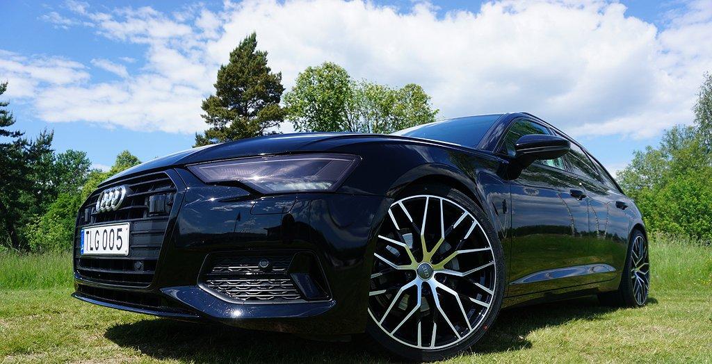 "Audi A6 Avant 40 TDI S Tronic 21"" Black Line Värmare 204hk"